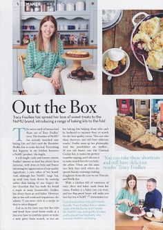 Thank you to Tracy Lynn Chemaly and the Condé Nast House & Garden SA team for the fantastic article you featured in your January 2014 issue on our New Baking Kits Range!