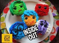 Let's Eat Fiction!: Disney-Pixar's INSIDE OUT Cupcakes