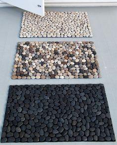 Spa Inspired Pebble Mat