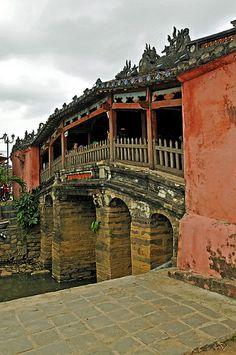 covered Japanese Bridge, Hoi An, Vietnam