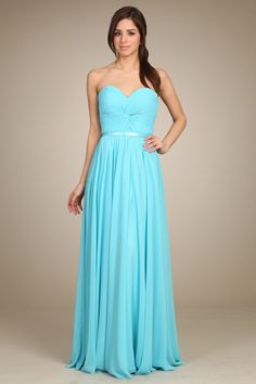 Sweetheart Bridesmaid Dress FT29005 Solid color, sleeveless, strapless, sweetheart neckline, full length, prom dress with front gathered bodice and lace up back. Shawl is included.