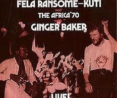 """Released on August 30, 1971, """"Fela Kuti With Ginger Baker - Live!"""" is an album recorded in 1971 by Fela Kuti""""s band Africa 70, with the addition of   Ginger Baker on two songs.  TODAY in LA COLLECTION on RVJ >> http://go.rvj.pm/3ws"""