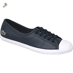 56f4cecb8629b2 Lacoste - Ziane BL 1 - SPW0140003 - Color  Navy blue - Size  8.5 - Lacoste  sneakers for women ( Amazon Partner-Link)