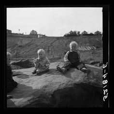 Copper miner's children. Copperhill, Tennessee Photographer: Marion Post Wolcott September 1939