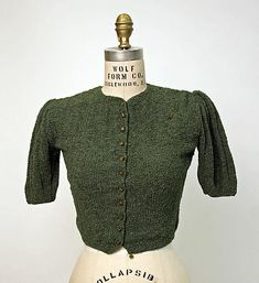 The end of the 1940s, France. History sweaters for more than 100 years (in pictures) - Fair Masters - handmade, handmade