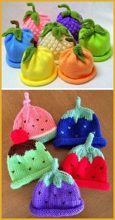 Caps for Babies - Free Knitting Pattern - knitting is as easy as 3 da . Caps for Babies - Free Knitting Pattern - knitting is as easy as 3 Da . How To Start Knitting, Knitting For Kids, Free Knitting, Knitting Sweaters, Baby Knitting Patterns, Crochet Patterns, Doll Patterns, Knitting Ideas, Knitting Stitches