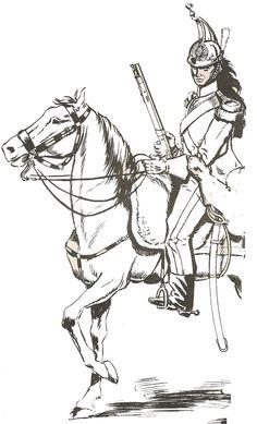 Reina 1849 Coraceros