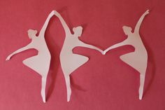 paper doll chain template - Google Search