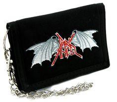 Dark Angel Thrash Metal Tri-fold Wallet Alternative Clothing Heavy Metal Music