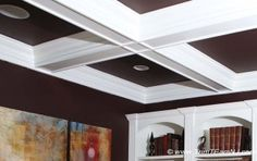 Coffered Ceilings and Beams Coffered Ceilings, Ceiling Beams, Home Ceiling, Bedroom Ceiling, Ceiling Treatments, Baseboards, Fireplace Mantels, Great Rooms, Home Improvement