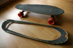 19 DIY home design ideas - amazing skateboard products