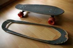19 DIY home design ideas - amazing skateboard products