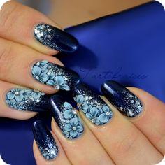 Tartofraises #nail #nails #nailart by Sally de Sayan