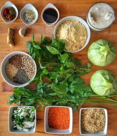 ingrédients courgettes farcies saveurs indiennes vegan