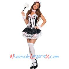 Wholesale Late Nite French Maid Outfit FMC506 [FMC506] - $8.80 : LingeriePark
