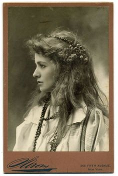 ~VINTAGE PHOTOGRAPHY: Maude Adams c. 1890~ Maude Ewing Kiskadden (November 1, 1872 – July 17, 1953), known professionally as Maude Adams, was an American actress who achieved her greatest success as the character Peter Pan, first playing the role in the 1905 Broadway production of Peter Pan; or, The Boy Who Wouldn't Grow Up. Adams's personality appealed to a large audience and helped her become the most successful and highest-paid performer of her day...