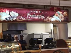 Cashier stand, Boulangerie, #Universal, #Orlando