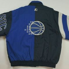 Don't snooze on this Vintage 90s Orlando Magic Starter Jacket swing by the shop and pick it up. Www.JustOneVintage.com Etsy Instagram @justonevintage