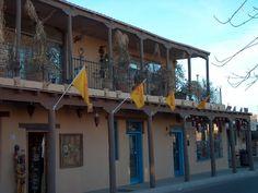 Stores Old Town Albuquerque New Mexico Usa Land Of