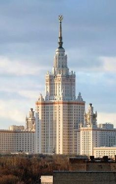 Moscow(one of the seven sisters)