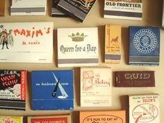 vintage chicago matchbooks   sunnydayvintage   etsy