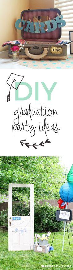 DIY Graduation Party Ideas to Make Your Grad Feel Special