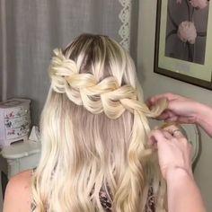 Прическа с плетением on Vimeo
