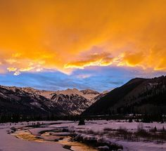A shot from this mornings stunner in #telluride #colorado