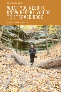 Headed to Starved Rock National Park in Illinois? Read this first! #hiking #starvedrock #travelillinois #familyfun #chicagofallactivites #midwesttravel #familyadventures #chicagotravel #chicagofamilyfun