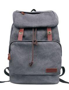 Douguyan Unisex Erwachsene Rucksack E00119 Grau: Amazon.de: Koffer, Rucksäcke & Taschen