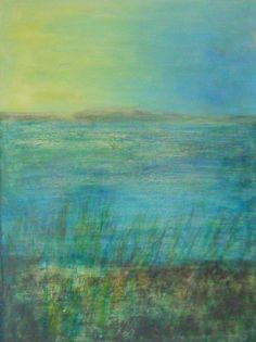 the ayres Felt Art, Art Paintings, Blue Green, Art Ideas, Landscapes, Inspire, Artwork, Photography, Inspiration