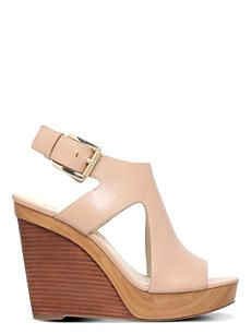 MICHAEL MICHAEL KORS Josephine leather wedge sandals