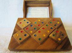 1993 Rain Tree COLOR MATCH Puzzle vintage by NowAndThenConnection