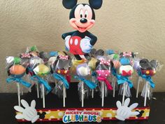 1 styrofoam cake pop stand mickey mouse by Chevonscouturesweets