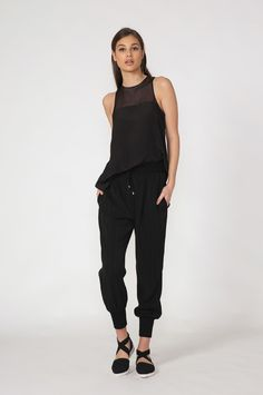 mooch spell pant - spring 2016 COLLECTION Spring 2016, Black Pants, Normcore, Product Description, Collection, Style, Fashion, Black Slacks, Swag