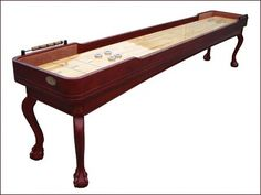 Beautiful Shuffle Board table