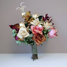 Check out this item in my Etsy shop https://www.etsy.com/listing/490317061/wedding-bouquet-alternative-bouquet