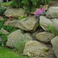 Large Rock Wall by L