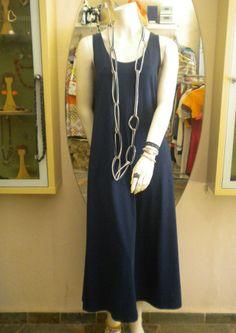 φόρεμα 100% cotton 48,00, κολιέ ύφασμα 5,00
