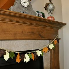 Thanksgiving Leaf Garland Tutorial Image heavy - OCCASIONS AND HOLIDAYS - All Holiday crafts, Knitting, Art, sewing, crochet, tutorials, children crafts, jewelry, needlework, swaps, papercrafts, Polymer clay, cooking, Quilting, Video How-To's, and so much more on Craftster.org