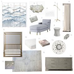 Elements of Style Blog   A Gender Neutral Nursery For Beyonce (and one for us Mortals)   http://www.elementsofstyleblog.com