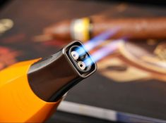 Metal Double Torch Jet Flame Cigar Lighter