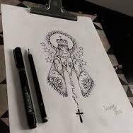 Resultado de imagen para tatuagens nossa senhora