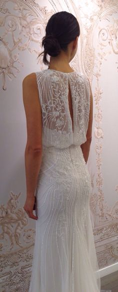 Such a pretty wedding dress by Monique Lhuillier