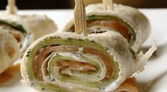 Wraps met zalm en komkommer - Lovemyfood.nl