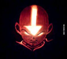 Aang Pumpkin!