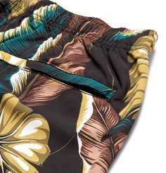 <b>Designed exclusively for MR PORTER.</b> The bold florals on <a href='http://www.mrporter.com/mens/Designers/Stussy'>Stüssy</a>'s swim shorts are surprisingly easy to pull off, thanks to their darker colour palette. They're made from soft, lightweight shell and cut comfortably long, so you can wear them around the resort. Team yours with a plain T-shirt and sneakers.