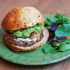 Turkey & Avocado Burger