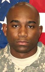 Army SSG Marion Flint Jr., 29, of Baltimore, Maryland. Died May 15, 2006, serving during Operation Iraqi Freedom. Assigned to 1st Battalion, 8th Infantry Regiment, 3rd Heavy Brigade Combat Team, Fort Carson, Colorado. Died of injuries sustained when an improvised explosive device detonated near his vehicle during combat patrol operations in Baghdad, Iraq.