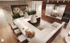 Duża kuchnia, styl rustykalny - zdjęcie od Agata Hann Architektura Wnętrz